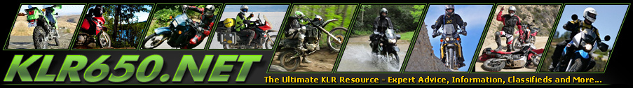 KLR650.NET Forums - Your Kawasaki KLR650 Resource! - The Original KLR650 Forum!